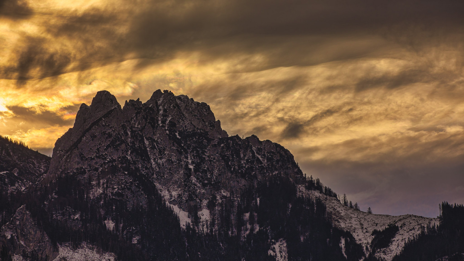 Mount Hahnstein   Admont