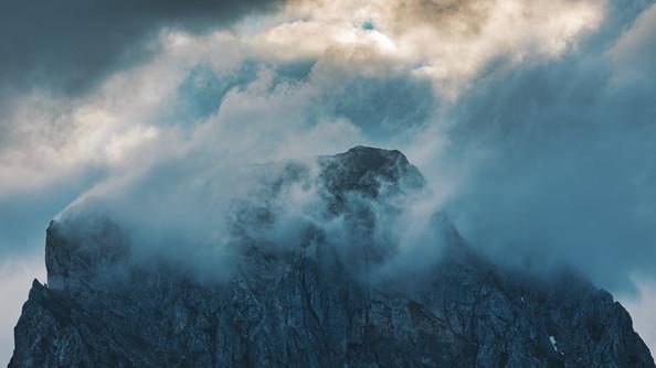 Reichenstein in Clouds