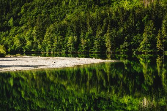 Beach | Leopoldsteiner Lake