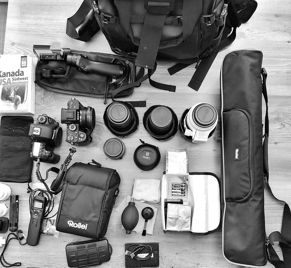 Equipment | CANADA Road Trip 2019 | HolgerOlivier Photography