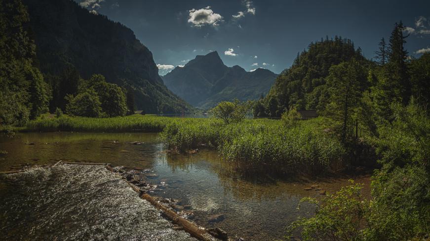 Leopoldsteiner Lake & Mount Pfaffenstein