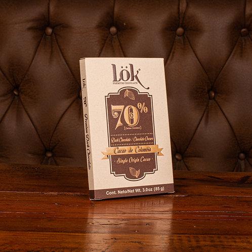 Chocolate lok 70 (85 gr)