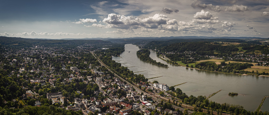 River Rhine Valley at Bad Honnef
