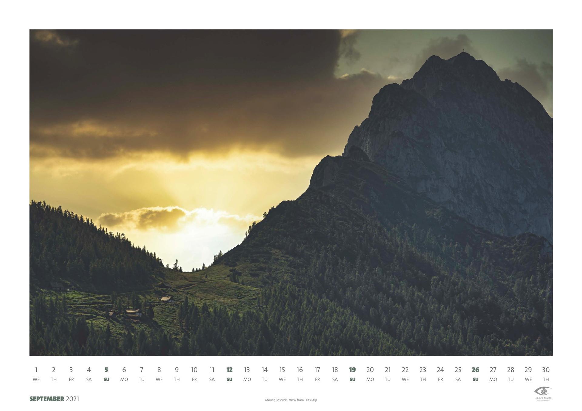 Calendar 2021 | September
