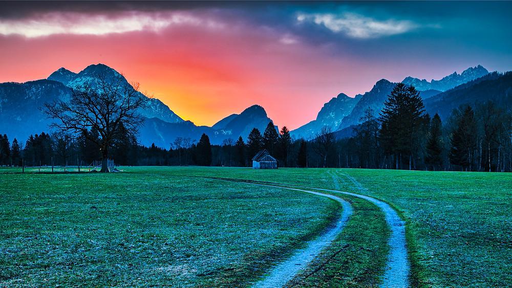 Gesäuse Nationalpark | Sunrise | HolgerOlivier Photography