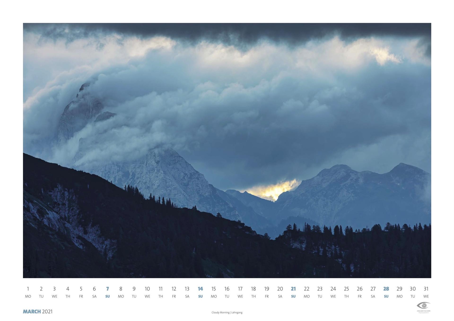 Calendar 2021 | March