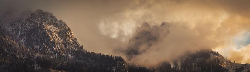 Mount Hahnstein and  Mount Kreuzkogel   Admont