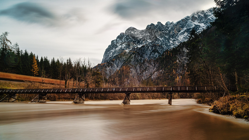 River Enns Bridge | Johnsbach | Gesäuse | HolgerOlivier Photography