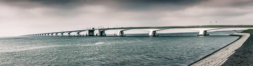 Zeeland Bridge | Netherlands | HolgerOlivier Photography