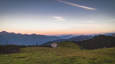 Scheiblegger High Alp at Sunrise