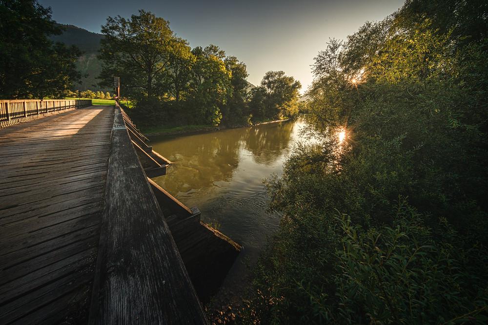 Mödringer Bridge | River Enns | Frauenberg | HolgerOlivier Photography