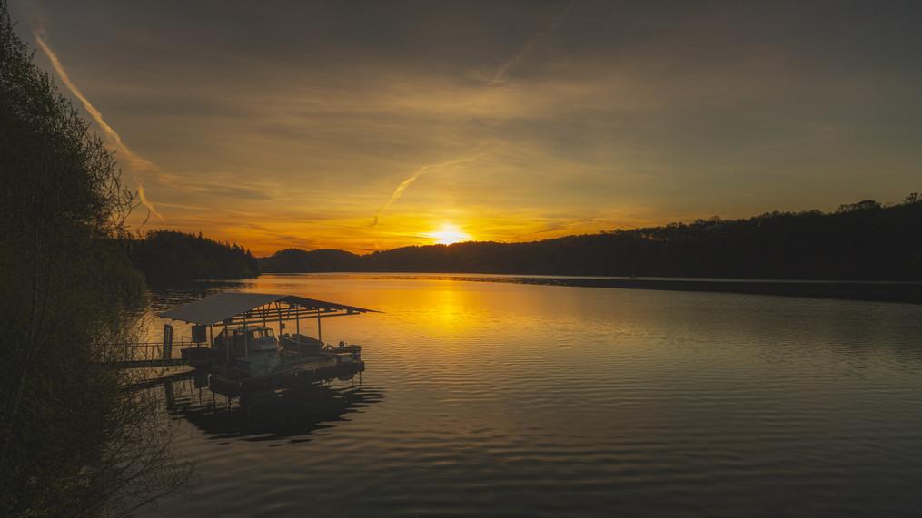 Wahnbach Dam | Sunrise
