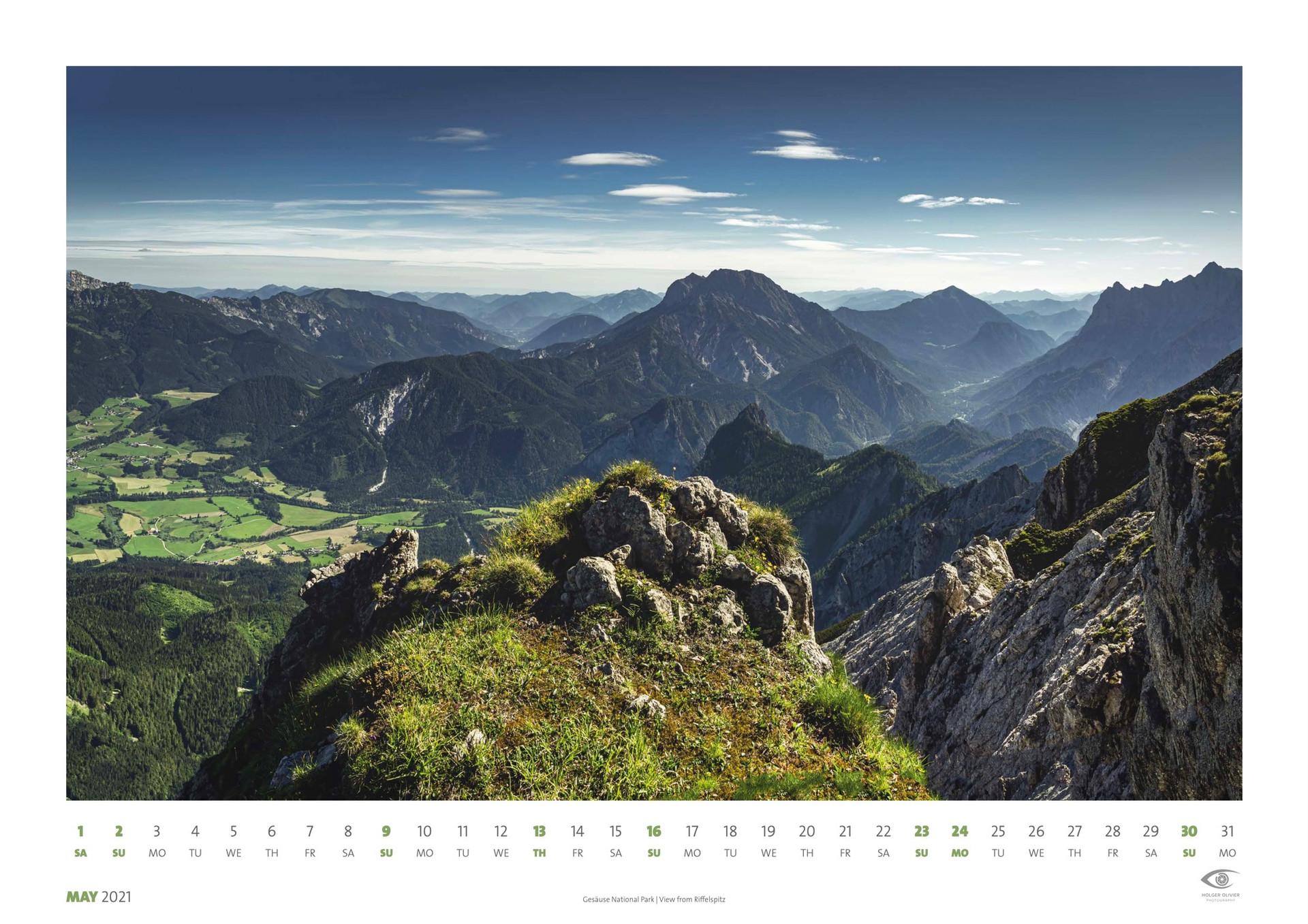 Calendar 2021 | May