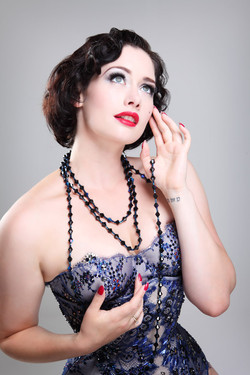Beaded corset & Bra