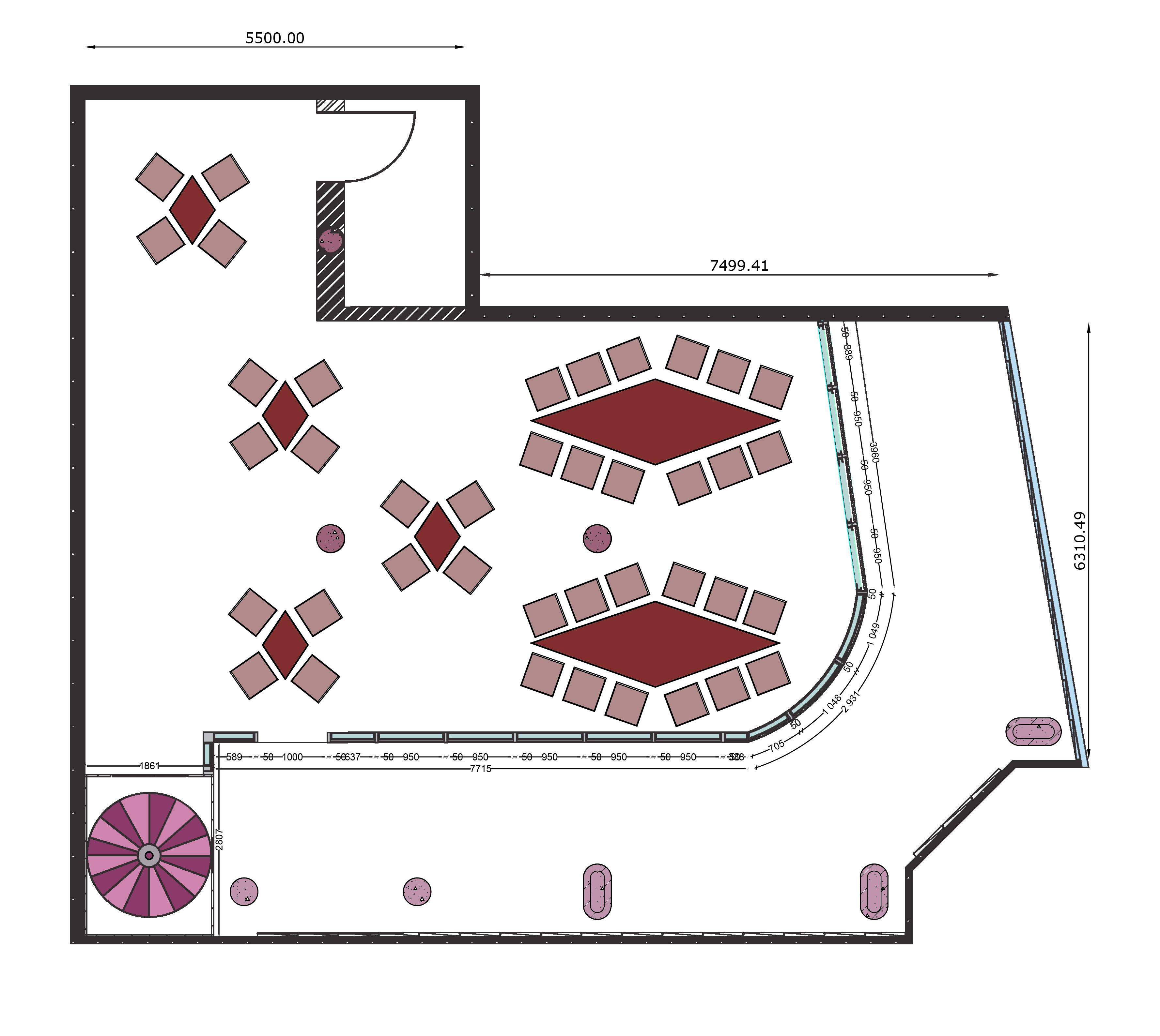 Flagship floor-plan