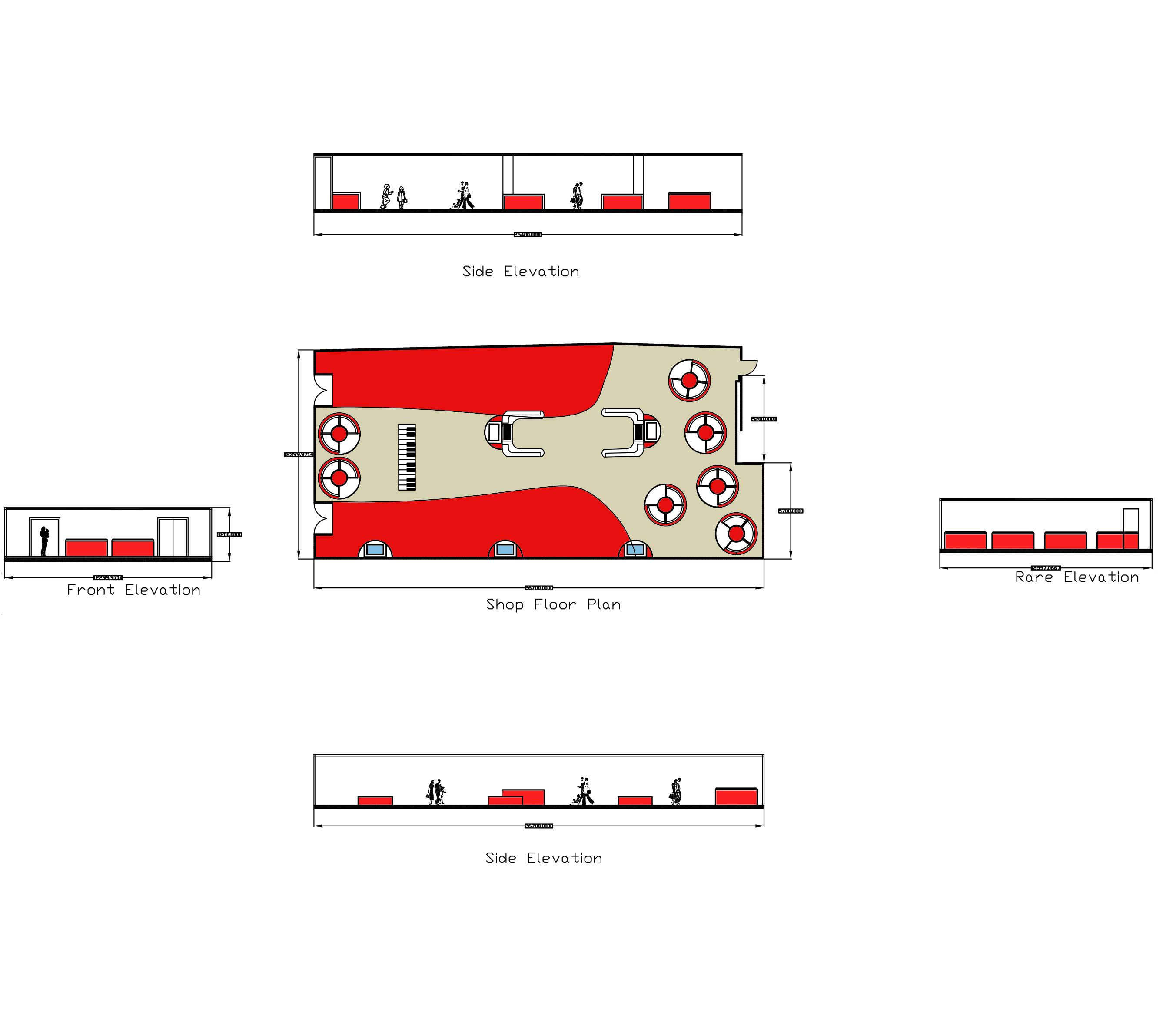 Clinton coloured floor-plan