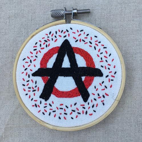 "Circle A symbol 3"" SOLD Commission available"