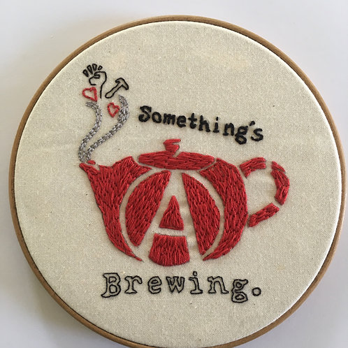 Something's brewing Not for Sale