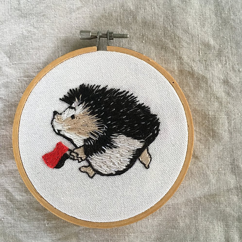 "Antifa hedgehog 3"" NFS - Commission order"