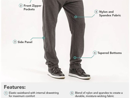 Public Rec Apparel—Sweat Pants, At Work?