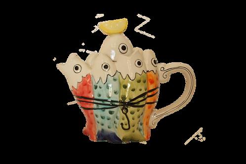 Sardine Tea Pot