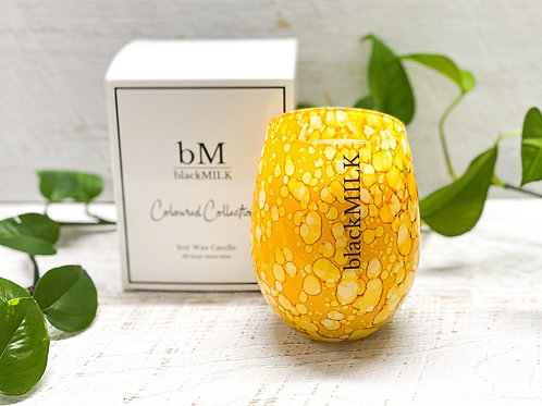 Candle - Speckled Yellow – Tahitian Lime