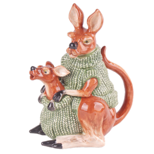 Kangaroo and Joey Teapot