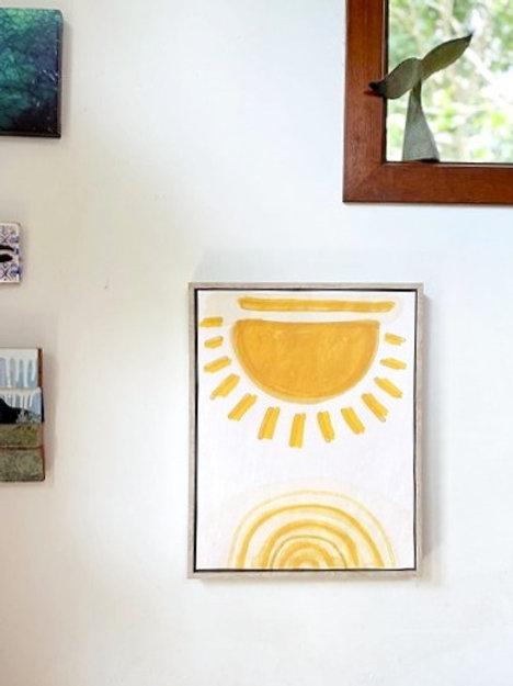 Sun Framed Artwork