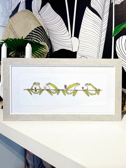 Frogs - Framed Picture