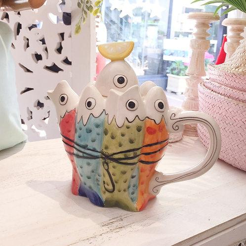 Sardines Teapot