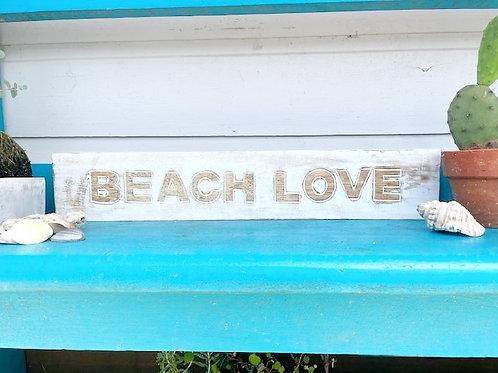 Beach Love Sign