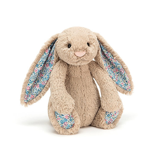 Jellycat Blossom Bashful Beige Bunny - Medium