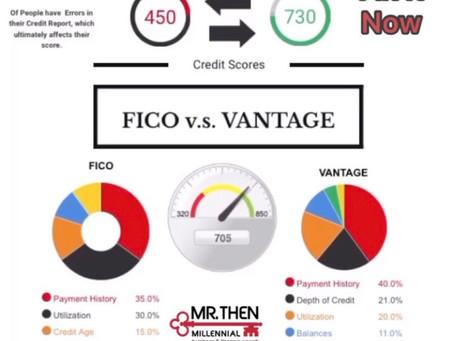 FICO Vs Vantage Score
