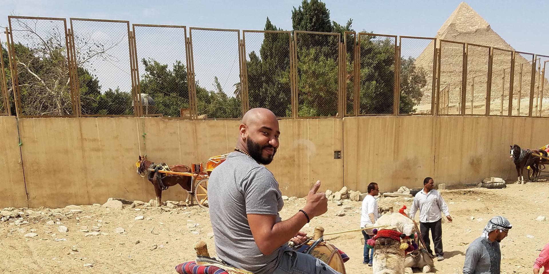 Carlos Ariel Then in Egypt