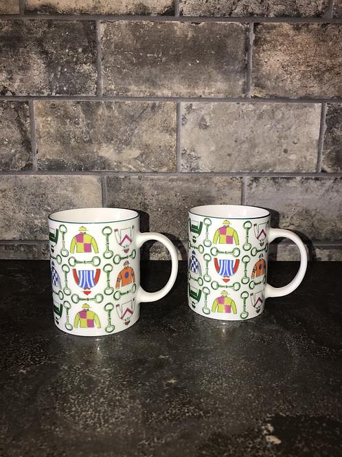 Jockey Silks Mugs Gift Set