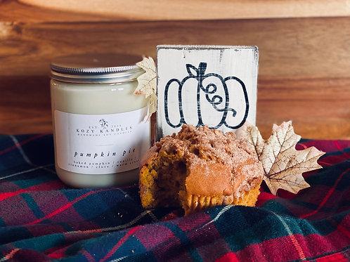Pumpkin Pie Candle Gift Set
