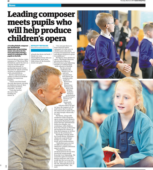 Eastern Daily Press - Into Opera