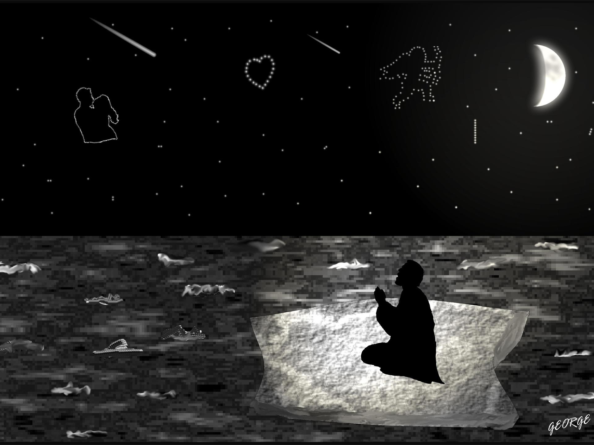 Dreaming digital art