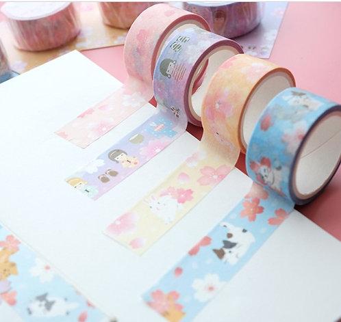 Nekoni 櫻花系列和紙MT