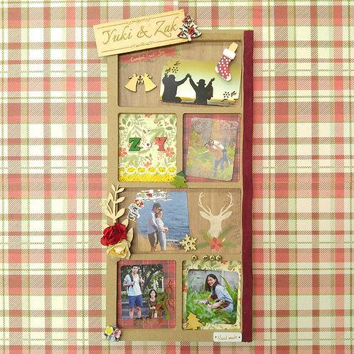 DIY木相框製作放題 (可選購個人化雕刻名牌)