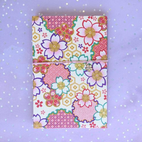 手工和風布藝相簿 - 櫻花色彩 Rainbow Sakura (回憶紀念2020相簿材料包)
