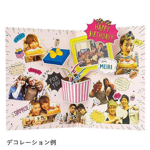 日本Iroha Photoboard 相片卡(Birthday Surprise)
