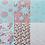 Thumbnail: URF Floral Vintage 30.5cm x 30.5cm 燙金卡紙本