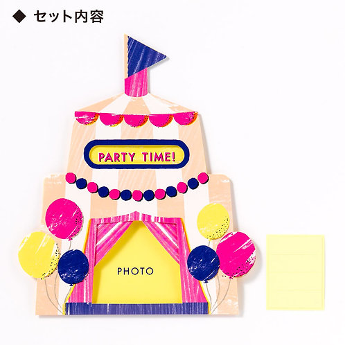 日本Iroha Toy Album Pop-up - Circus Curtain