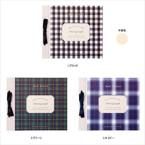 日本Mark's Check Pattern 活頁黏貼式相簿