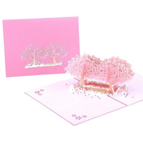 落櫻繽紛 Sakura in Air 3D立體卡