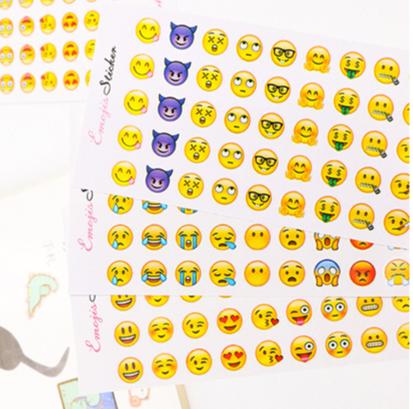 Emoji Marji 表情貼紙  (12張入 660枚)