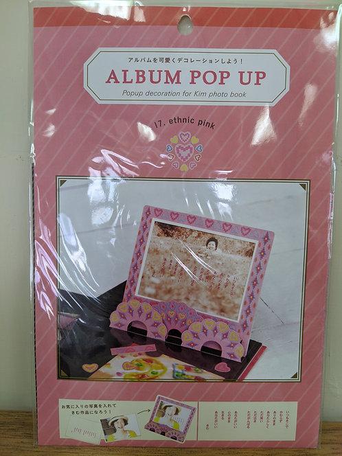 日本Iroha Album Pop-up - Ethnic Frame