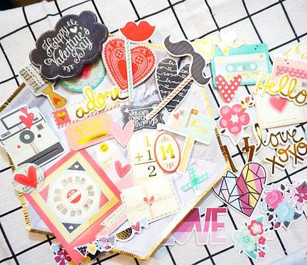 Love Mail! Stock Diecut Stickers 貼紙 (51入)