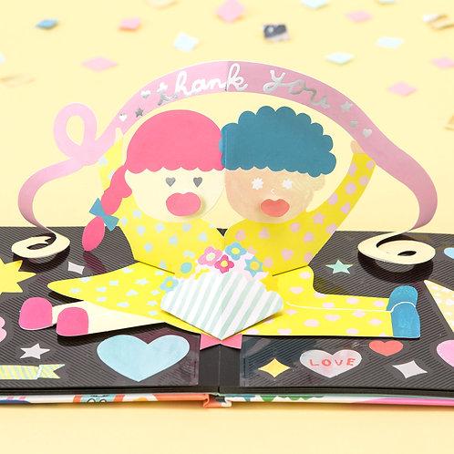 日本AIUEO - Album Pop-up - Thank you Kiss